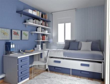 Красивый дизайн комнаты мальчика