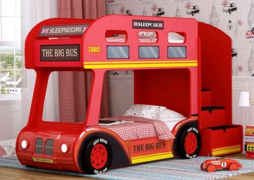 Красная мебель для ребенка