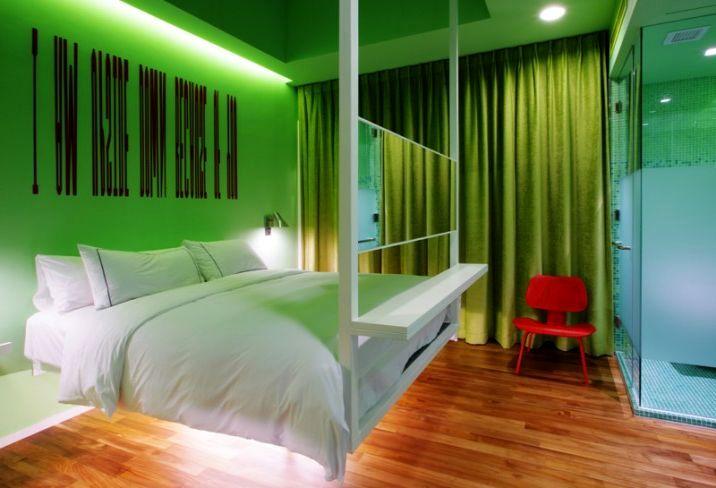 Креативное оформление и установка спального места