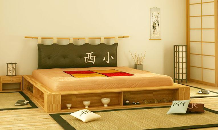 Креативный декор современной кровати