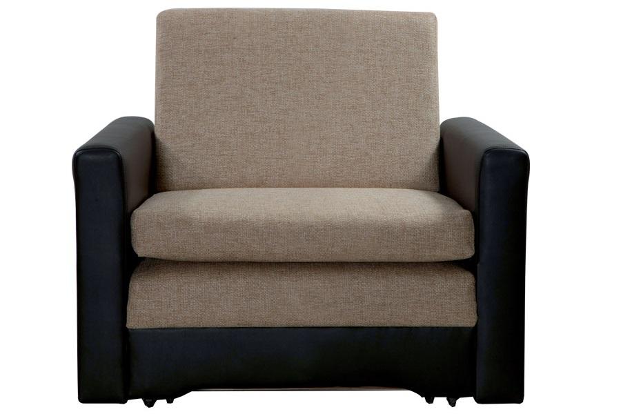 Кресло-кровать приятных тонов