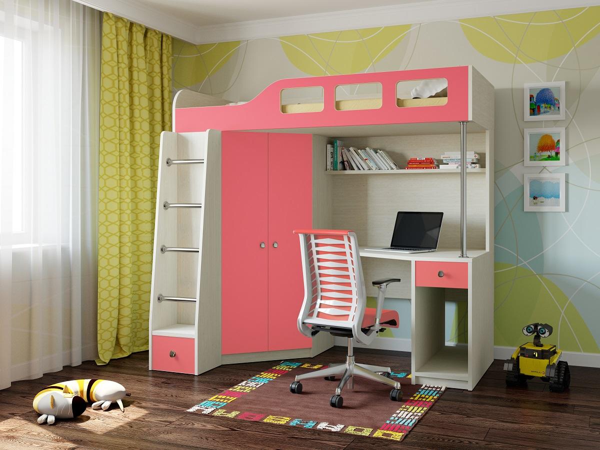 Кровать-чердак для ученика