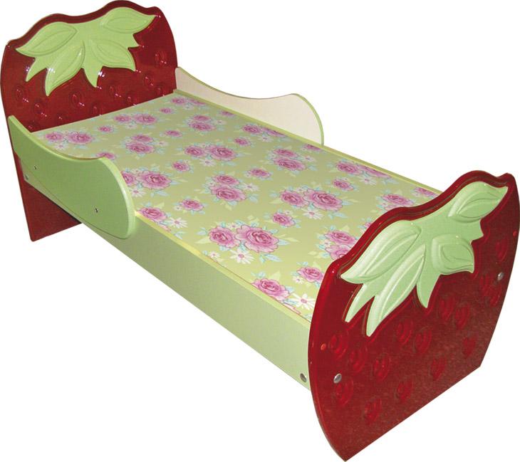 Кровать детская со спинкой
