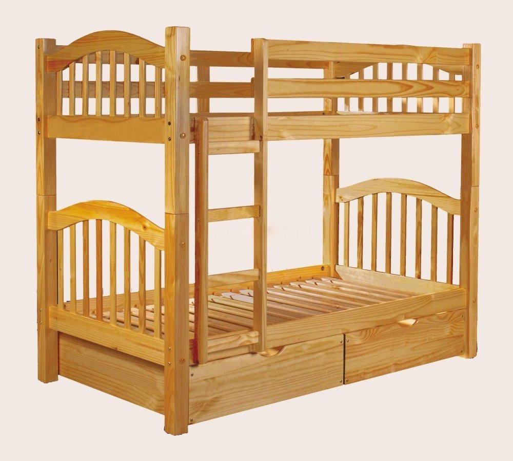 Кровать из двух ярусов для детей