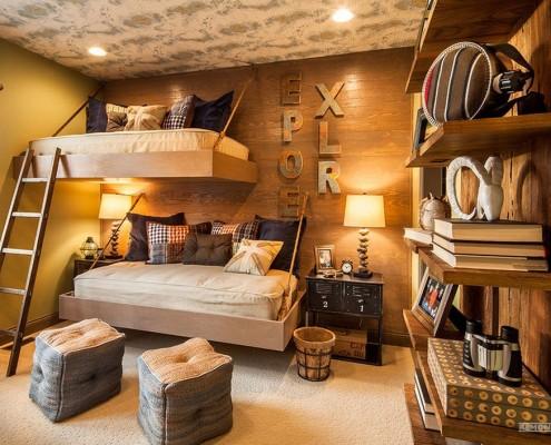 Кровать-полка для комнаты