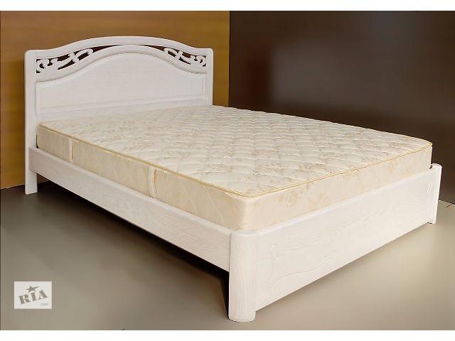 Кровать полуторная деревянная