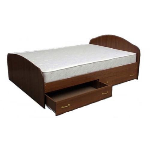 Кровать с 2 ящиками с одним спальным местом