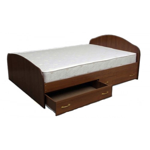 Кровать с 2 ящиками