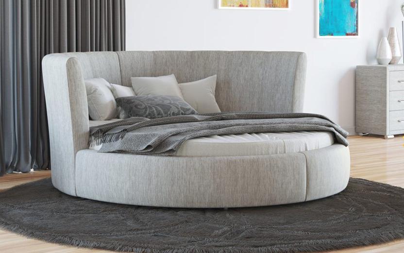 Кровать с изголовьем