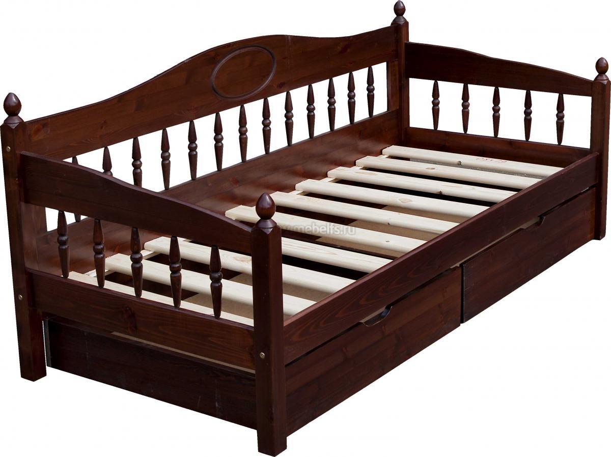 Кровать с одним спальным местом для ребенка
