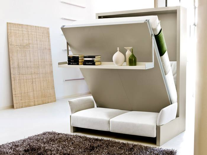 Кровать-шкаф для дома