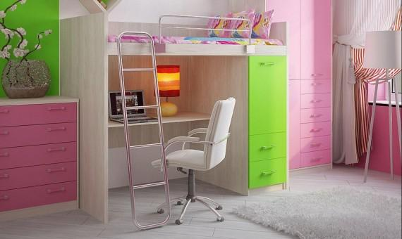 Кровать-шкаф для ребенка