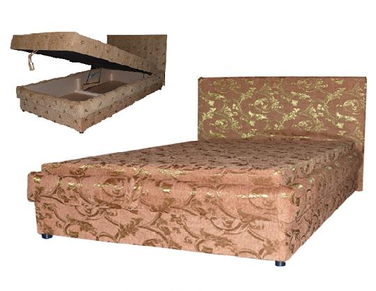 Кровать-тахта приятных оттенков