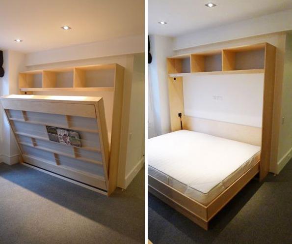 Кровать-трансформер для малгабаритного помещения