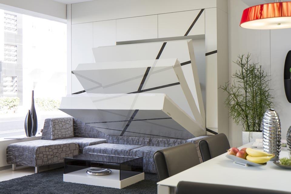 Кровать-трансформер экономит место в доме