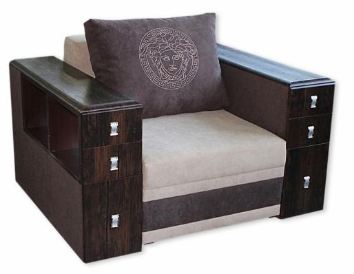 Кровать в виде кресла с раскладывающимся механизмом