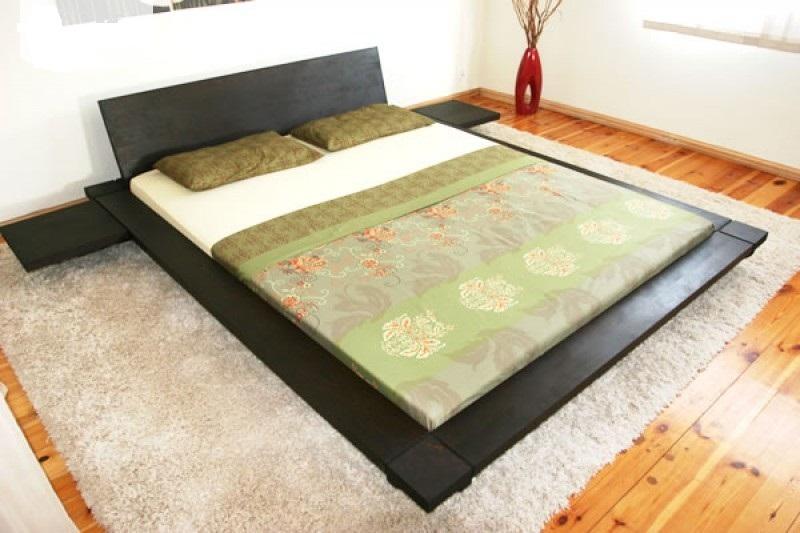 Кровать в японском стиле Сакура