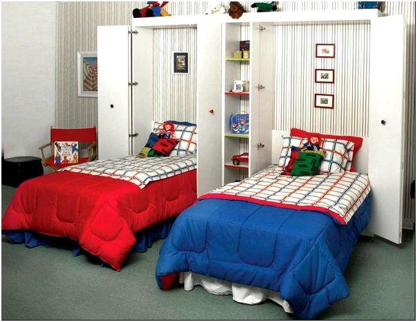 Кровати из шкафа