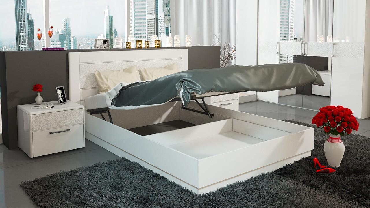 Кровати подиумные