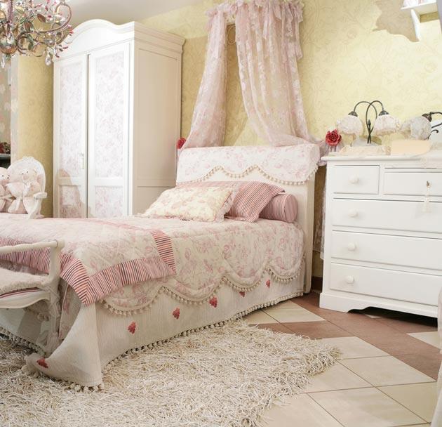 Кроватка классик для девочки
