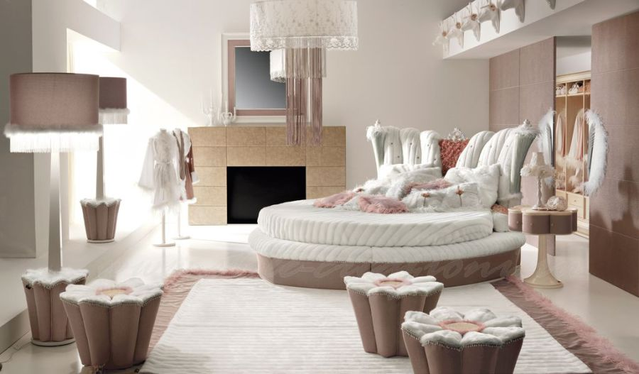 Круглая кровать и ее применение