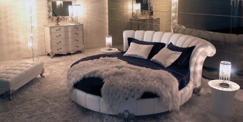 Круглая кровать – райское наслаждение