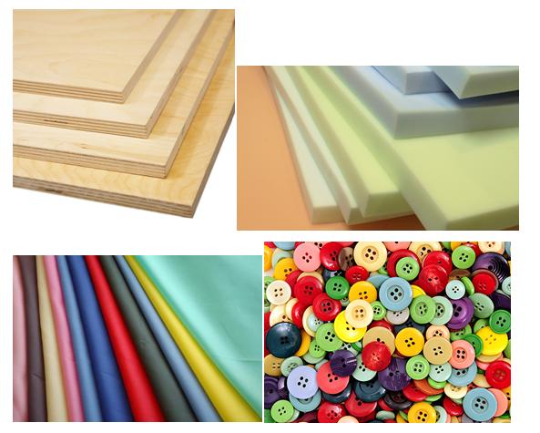 Материалы для создания каретной стяжки мебели