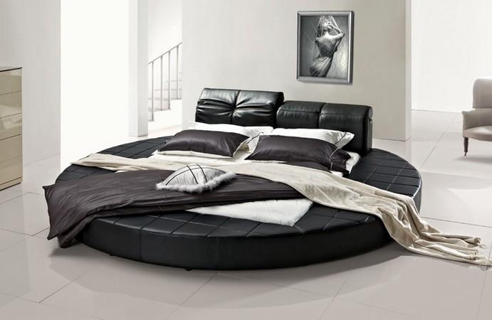 Мебель черного цвета для сна больших размеров
