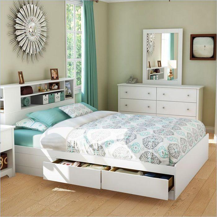 Мебель для сна с ящиками для хранения вещей