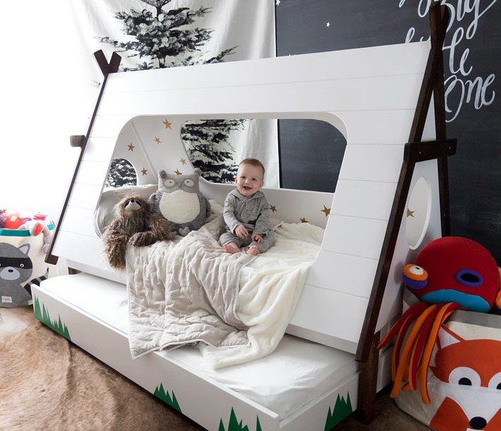 Мебель-домик для ребенка