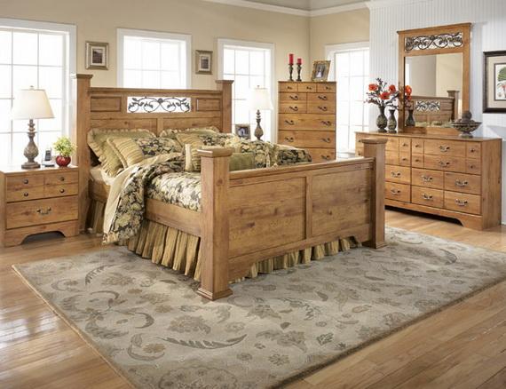 Мебель из дерева в стиле кантри