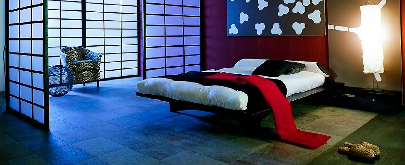 Мебель из дерева, выполненная в японском варианте декора
