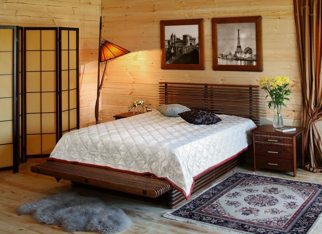 Мебель из натурального прочного дерева для сна