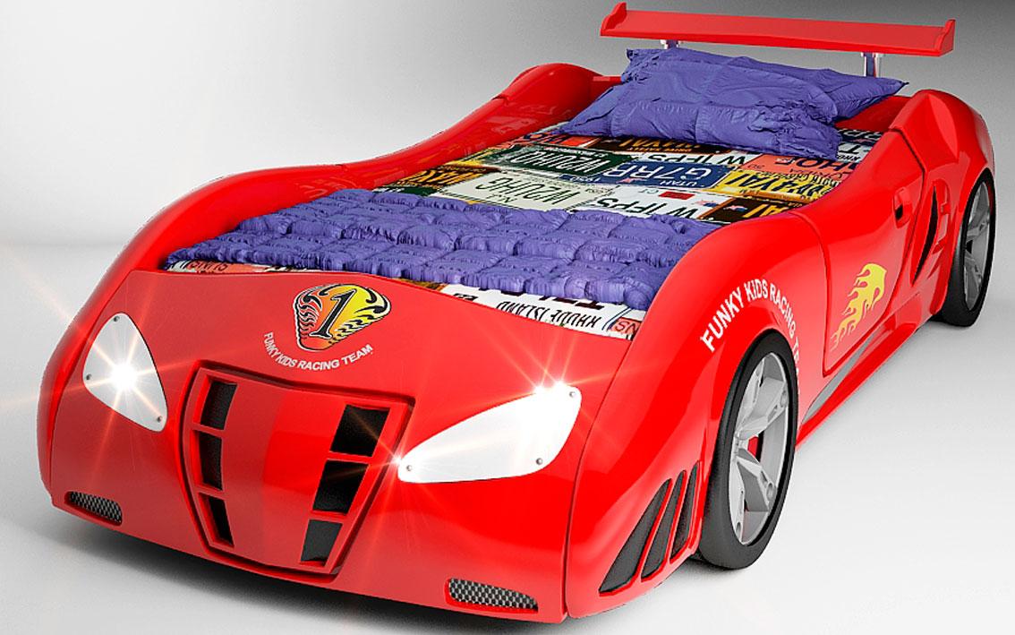 Мебель красного цвета Ferrari