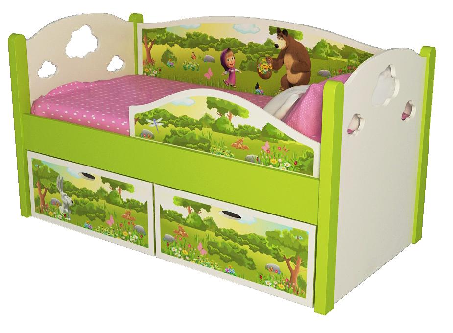 Мебель с принтами для детской комнаты