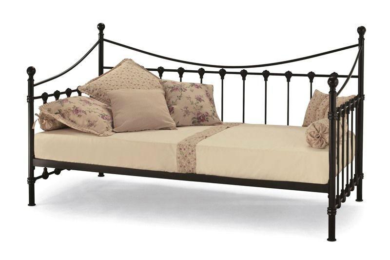 Металлические кровати с одним спальным местом
