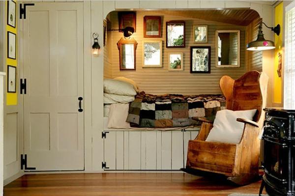 Минимализм в интерьере маленькой спальни