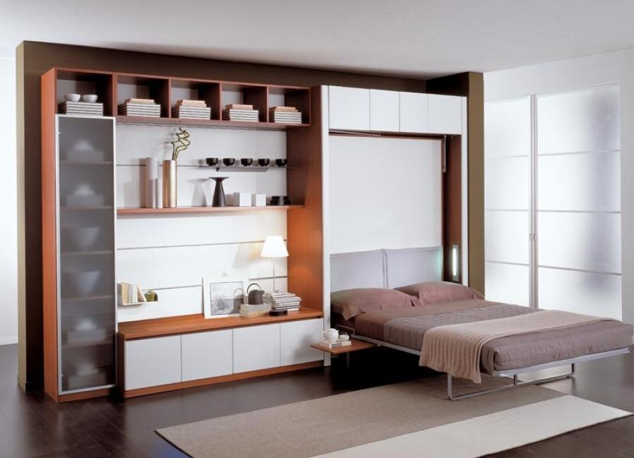 Многофункциональная мебель откидного типа