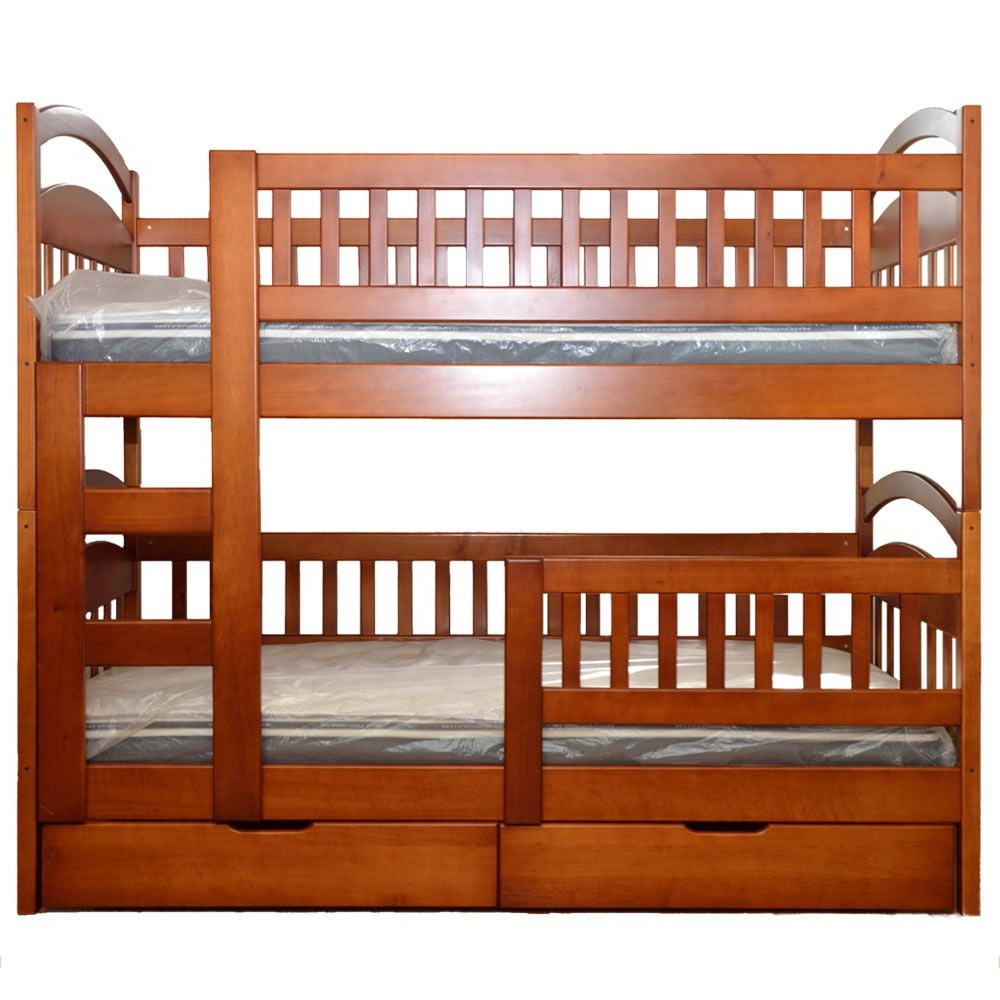 Модель кровати из массива ольхи