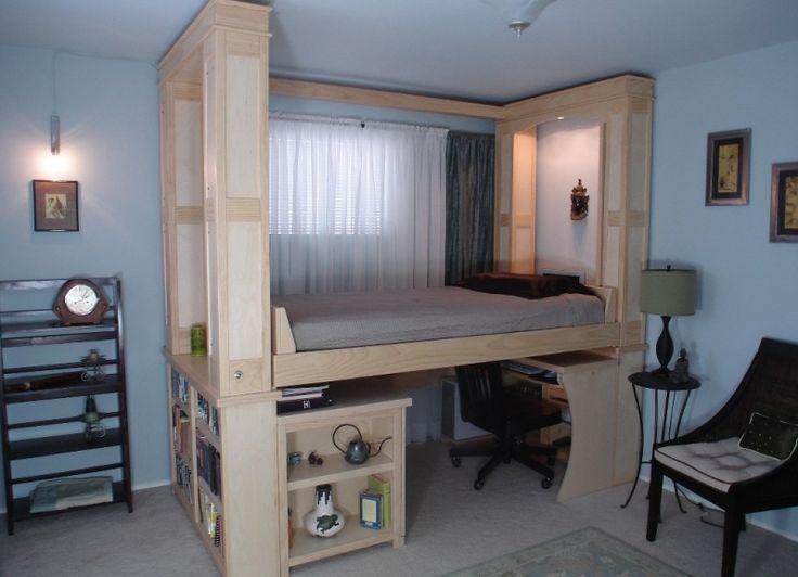 Модель необычной кровати