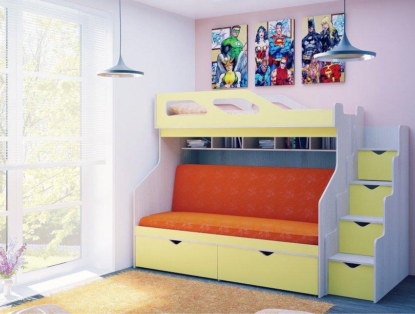 Модели для детской комнаты