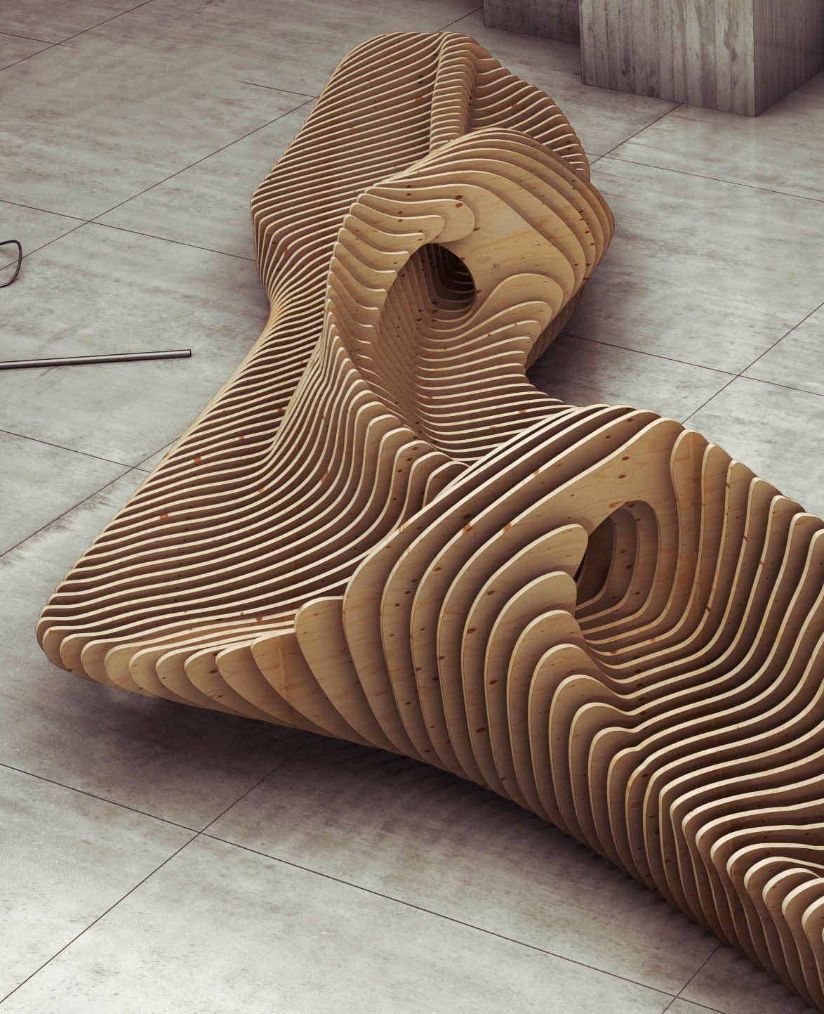 Моделирование оригинальной мебели