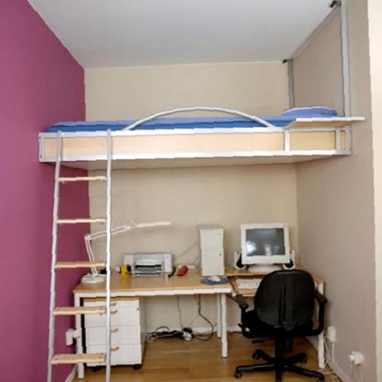 Можно ли установить кровать под потолочным покрытием