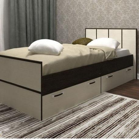 На ваш выбор кровать может быть односпальной или двуспальной