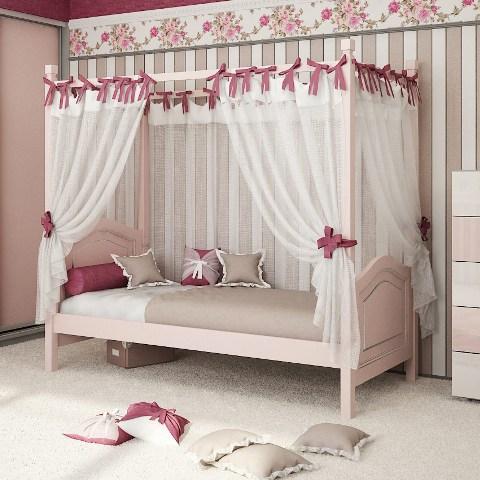 Надстройка над кроватью под балдахин