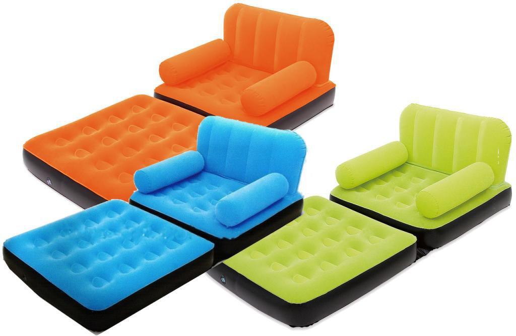 Надувное кресло кровать трансформер