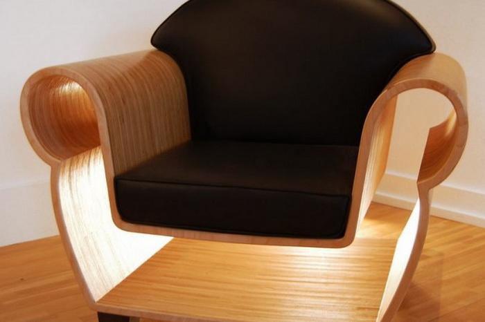 Необычные параметры кресла