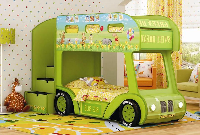 Необычный дизайн современной детской мебели