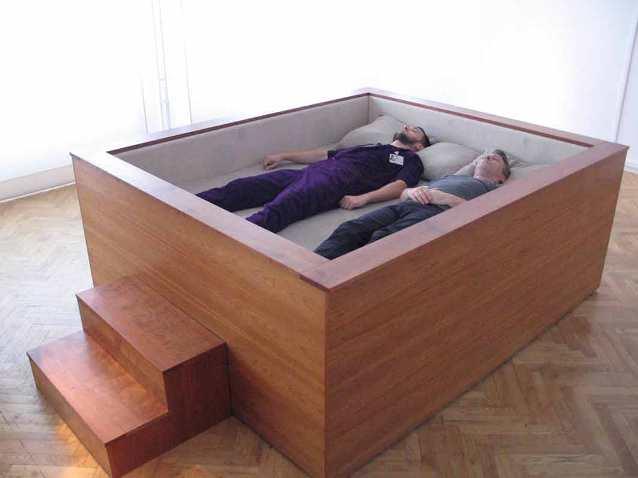Необычный дизайн спального места