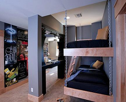Несколько креативных идей обустройства спальни
